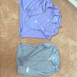 XL bundle of Nike running tops